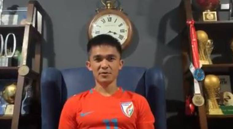 Sunil Chhetri wishes U-16 team luck ahead of their quarterfinal clash against South Korea