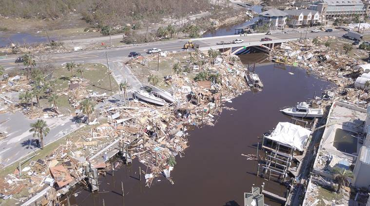 Hurricane Michael: Rescuers find first body in worst hit ...