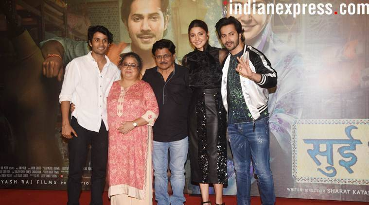 Varun Dhawan and Anushka Sharma celebrate Sui Dhaaga's success