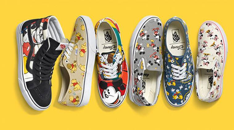 Vans comes up with quirky Disney range to commemorate Mickey Mouse's 90th birth anniversary