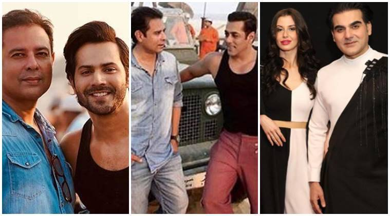 Have you seen these photos of Varun Dhawan, Salman Khan and Arbaaz Khan?