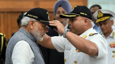 INS Arihant's patrol over: Nuclear-triad in place, submarine our shield against blackmail, says PM Modi