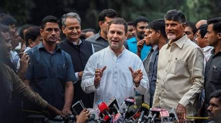 We have decided to forget the past to save the country: Rahul Gandhi after meeting Naidu