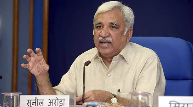 President Kovind appoints Sunil Arora as new Chief Election Commissioner