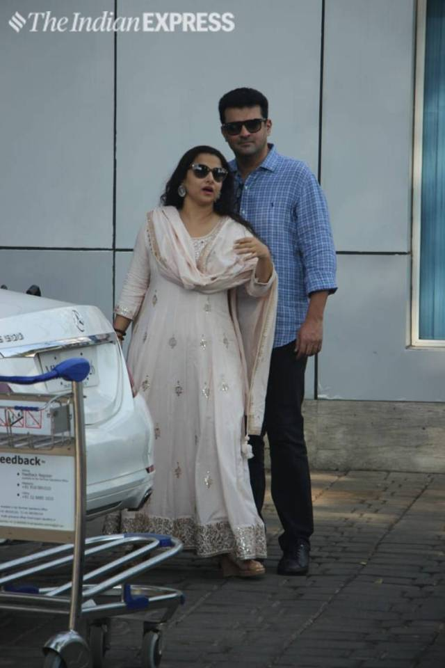 vidya balan and husband siddharth roy kapur
