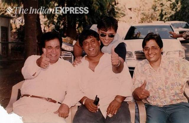 kader khan govinda david dhawan vashu bhagnani photo