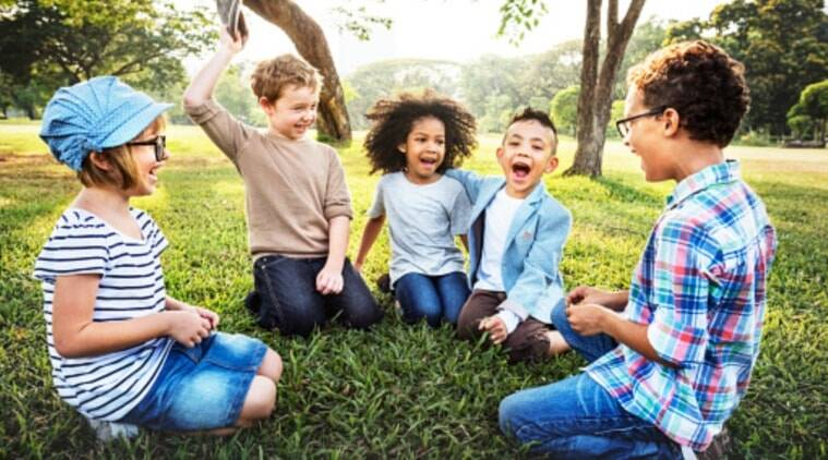 Image result for green space in childhood images