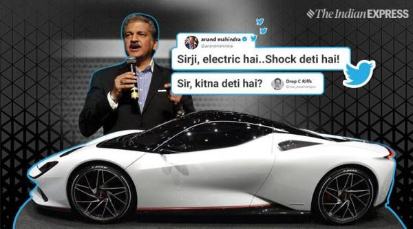 Anand Mahindra's reply to man who asked 'kitna deti hai ...