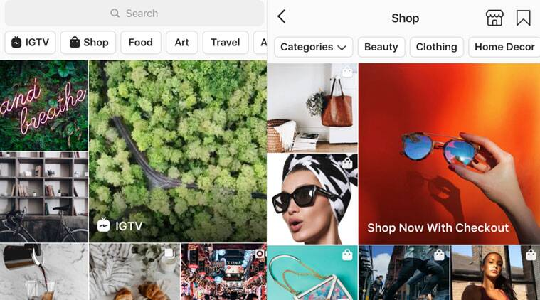 Instagram, Instagram Explore Tab, Instagram Stories, Instagram Explore, Instagram Explore Shop, Instagram Explore IGTV, Instagram redesign