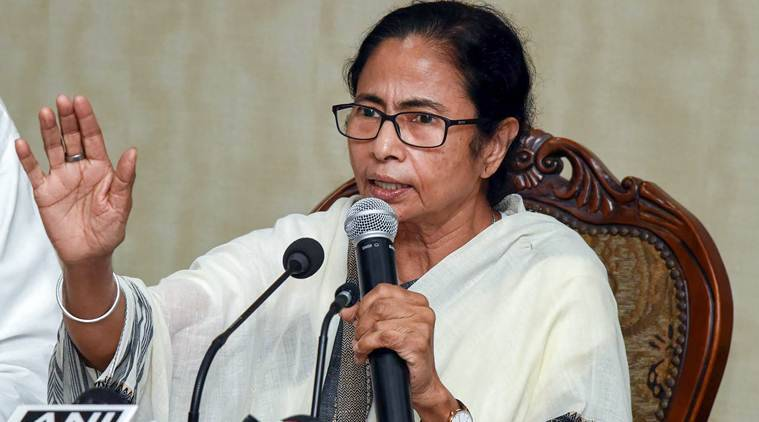 Kolkata city news, Mamata Banerjee, Mamata Banerjee Durga puja committees, Mamata Banerjee slams BJP, IT notice to Durga puja committees, India news, Indian Express