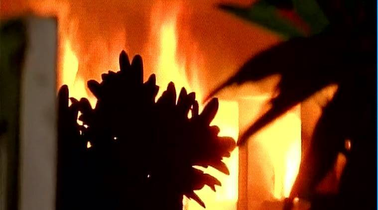 north 24 parganas house fire, woman's house set on fire bengal, west bengal news, west bengal crimes