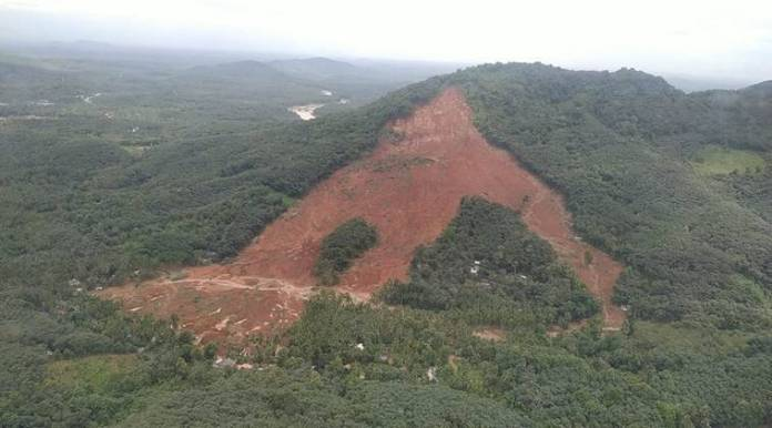 Image result for kavalappara landslide