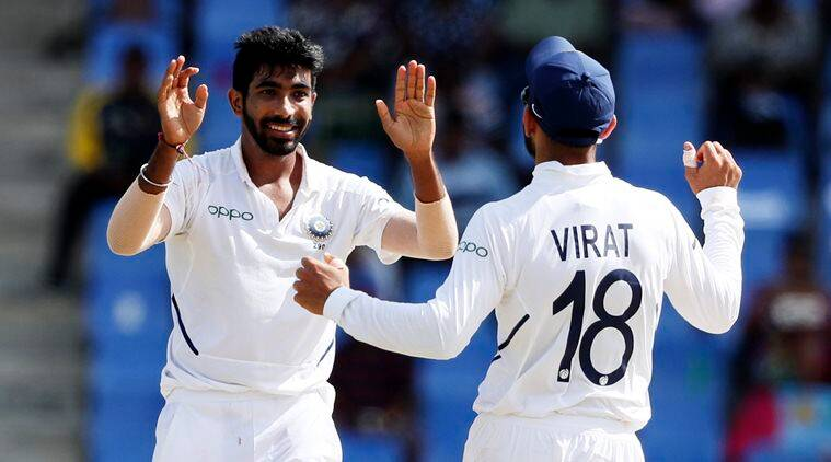 Jasprit Bumrah, Harbhajan Singh, Virat Kohli, Jasprit Bumrah hattrick, IND vs WI 2nd Test, WI vs IND 2nd Test, India tour of West Indies 2019