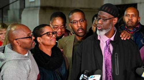 Image result for Picture of Three Men Exonerated After Serving 36 Years In Prison For Teen's Murder (Photos)