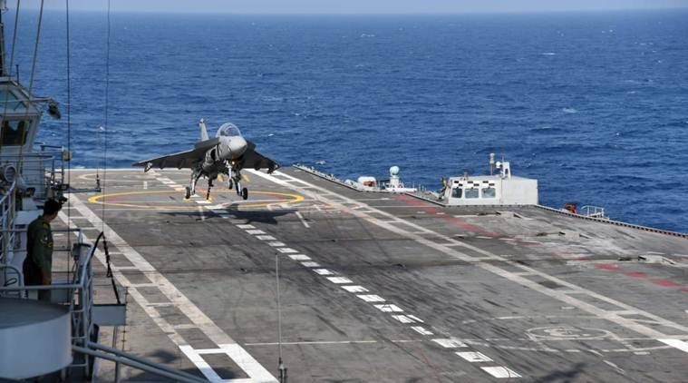 Indian Navy Success With Tejas Fighter Jet Landing