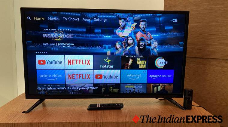 amazon, onida, fire tv edition, onida fire tv edition review, onida 32-inch fire tv edition review, onida 32-inch fire tv price in India, onida fire tv vs mi tv