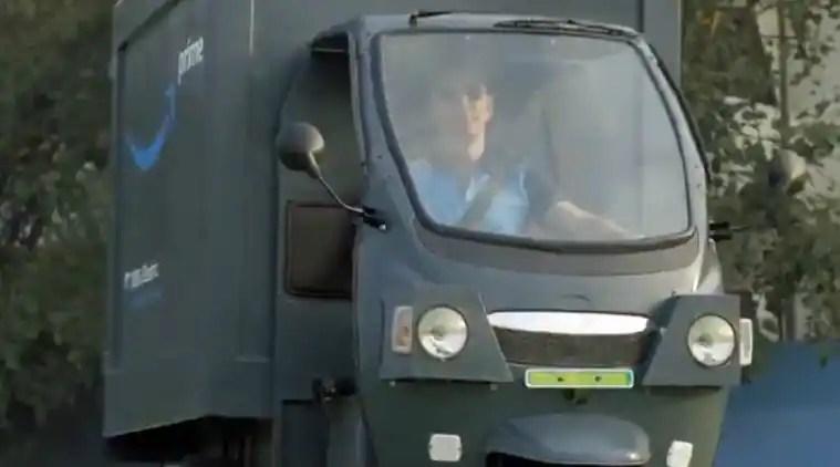 amazon electric vehilces, jeff bezos electric vehicle, amazon EVs, amazon ev, amazon electric delivery vehicle