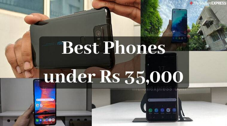 Best phones under Rs 35000, Asus 6Z, Apple iPhone 7, Redmi K20 Pro, LG V40 ThinQ, Realme X2 Pro, Samsung Galaxy S9+, OnePlus 7T