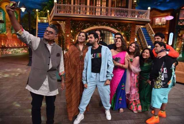 Shubh Managal Zada Savdhaan on The Kapil Sharma Show