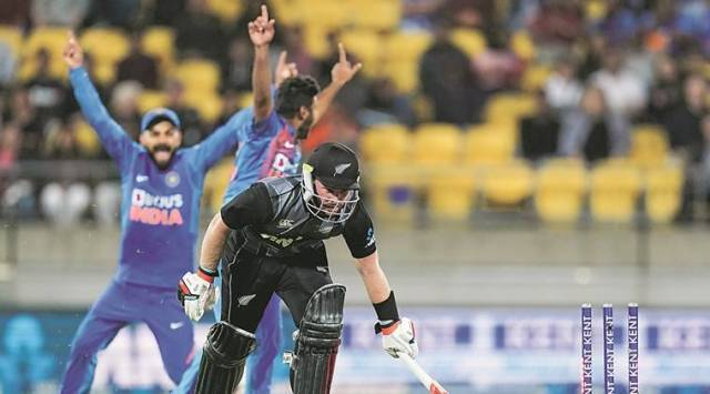 India vs New Zealand T20 series, second super over, IndvNZ super over, Virat Kohli super over, Manish Pandey batting, KL Rahul super over, Rohit Sharma Super New Zealand, Ind vs NZ T20 series, Indian Express news