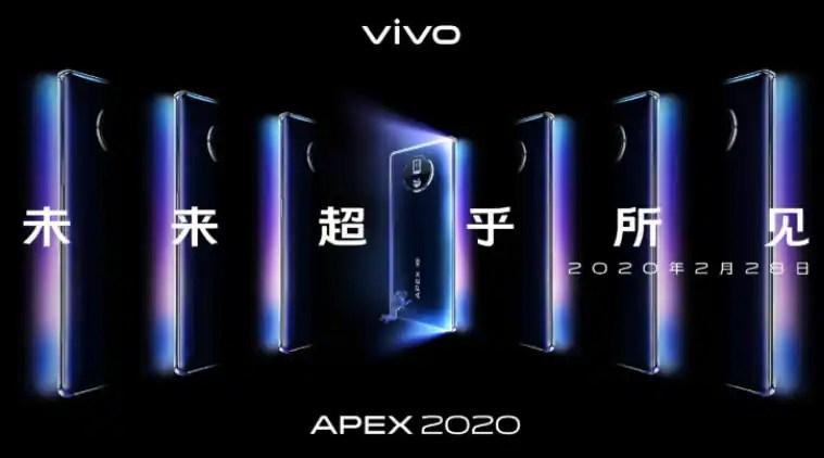 vivo apex 2020, vivo apex design, vivo apex camera, vivo apex screen, vivo apex launch date
