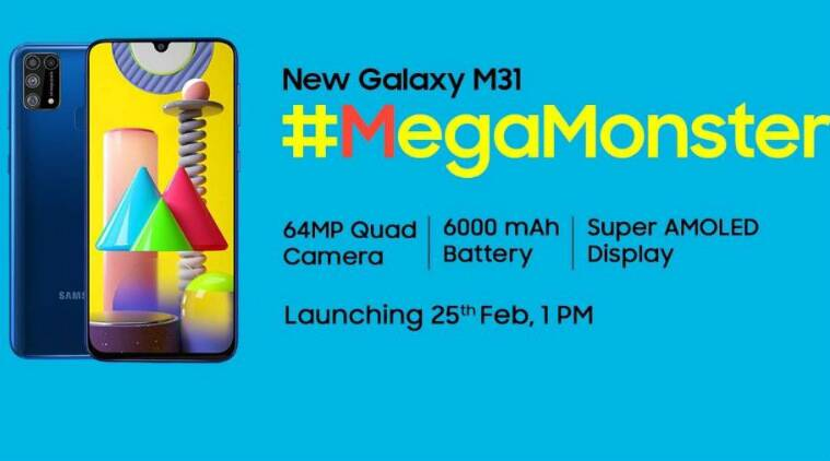 samsung galaxy m31, galaxy m31 price, galaxy m31 specifications, galaxy m31 launch, galaxy m31 features