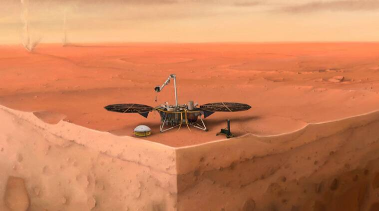 insight lander, insight data, insight one year data, insight on mars, mars, nasa