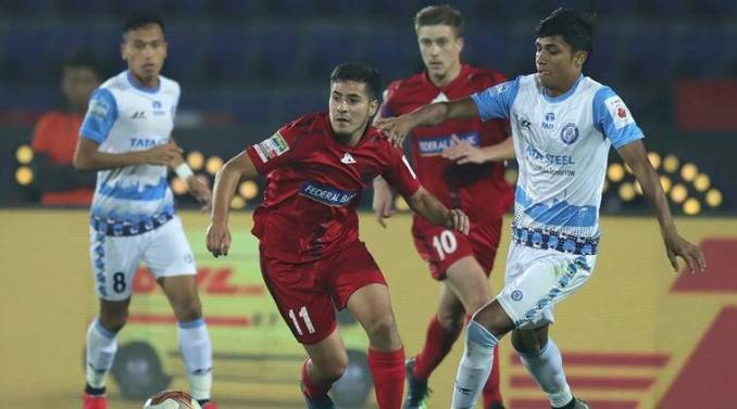 NorthEast United FC and Jamshedpur FC