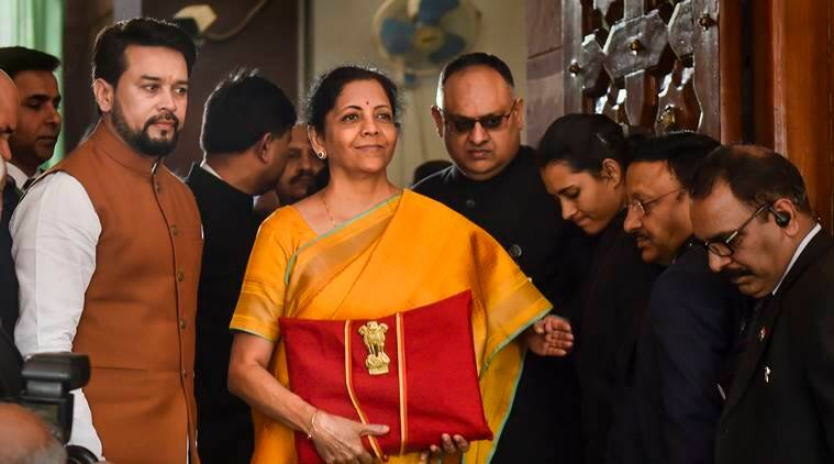 Budget 2020, Nirmala Sitharaman Budget 2020, Budget 2020 Sensex, indirect taxe scheme, direct tax dispute resolution, Sensex Nifty Budget, Indian Economy Budget 2020, Economic slowdown budget, India gdp grwoth budget, Budget news, Indian Express