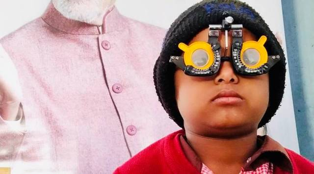 vision, vision screenings, vision screenings in UP for children, eyesight, underprivileged children, indian express, indian express news