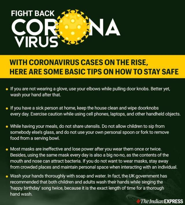 coronavirus precautions elderly