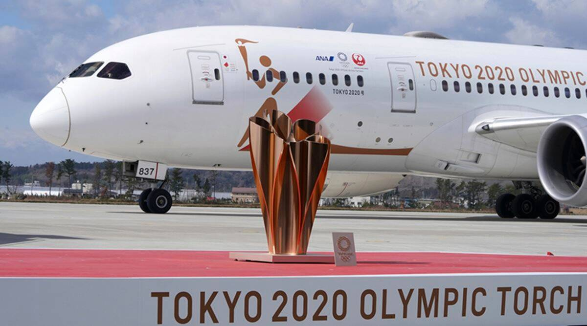 Olympics stock fb Tokyo Olympics relay opens in 100 days with 10,000 torchbearers