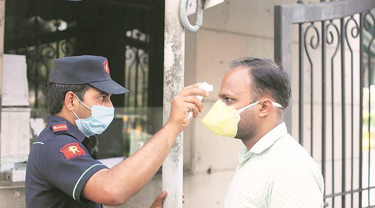 noida coronavirus cases, noida coronavirus, india lockdown, coronavirus lockdown, noida coronavirus, groceries, coronavirus outbreak, india news, indian express