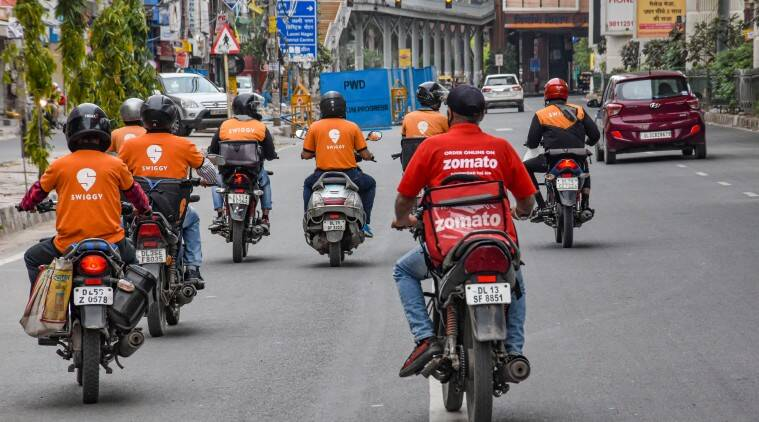 zomato, swiggy, online delivery companies, e-commerce sites, indian express lifestyle