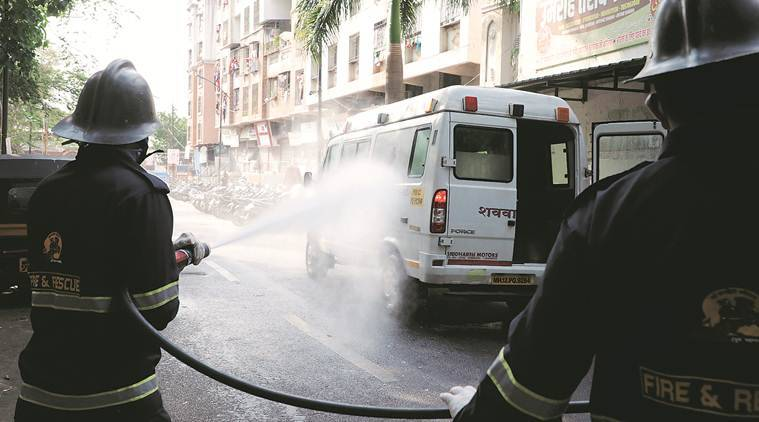 ambulance - Coronavirus LIVE Updates: Over 1,000 cases in a day, govt says lockdown helped