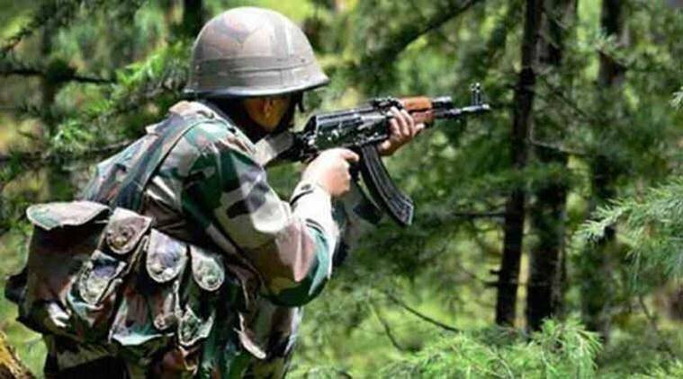 army kashmir - J&K: Two militants killed in encounter with security forces in Shopian district