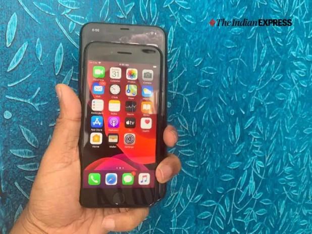 iPhone Se review, iPhone Se specs, iPhone SE 2020, iPhone SE price (Express photo: Nandagopal Rajan)