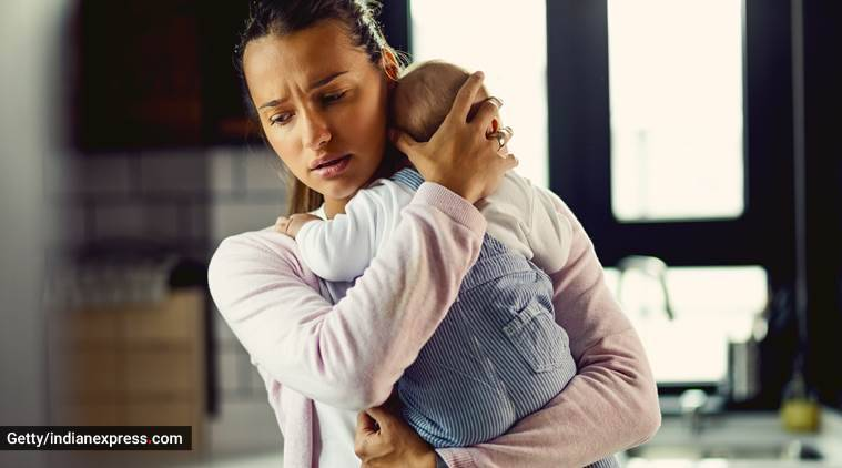 maternal depression, long term depression, depression and motherhood, screening for depression, mothers and kids, health, mental health, indian express, indian express news