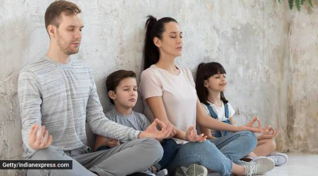 yoga for mental health and physical well-being, yoga asanas for the entire family, yoga for stress and anxiety, International Yoga Day, Ira Trivedi, indian express, indian express news