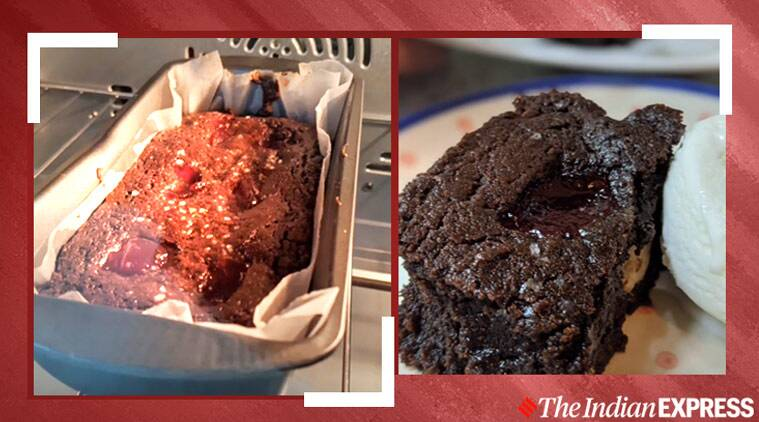 brownie - Midnight cravings? Try this lip-smacking brownie