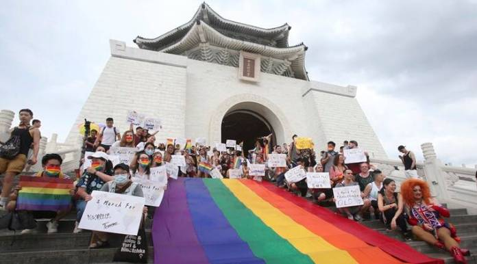 Taiwan parade celebrates LGBT Pride, island's virus success