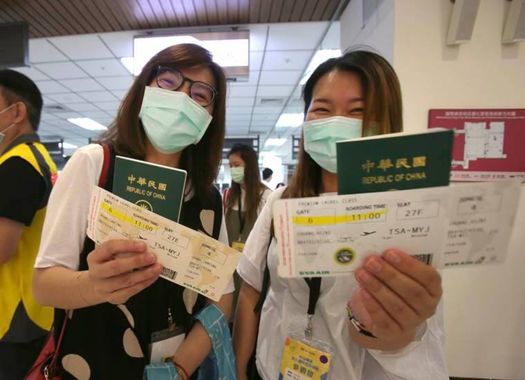 Taiwanese flight of fantasy, Taiwan pandemic flying, Taiwan's Civil Aviation Administration, indian express, indian express news