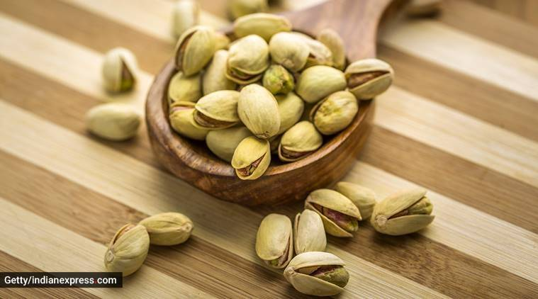 pistachios, weight loss, dry fruits and weight loss, indianexpress.com, indianexpress, weight loss diet, US pista,