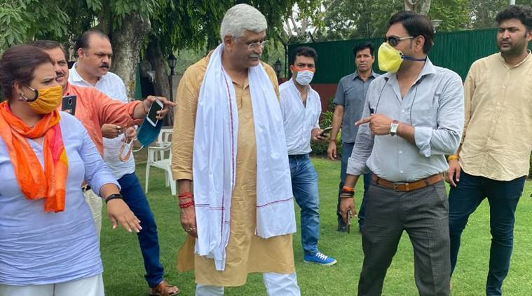 Gajendra Singh Shekhawat, Gajendra Singh Shekhawat audio tapes, fir against Gajendra Singh Shekhawat, rajasthan government crisis, congress Gajendra Singh Shekhawat bribing mlas, bjp bribing mlas