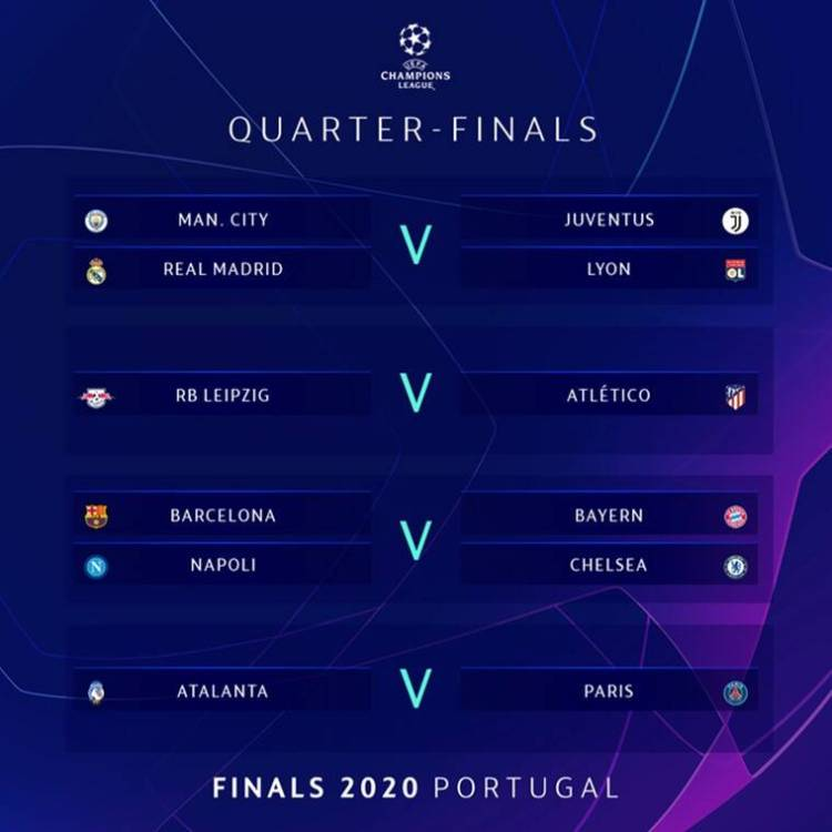 UEFA Champions League draw: Real Madrid vs Juventus on the ...