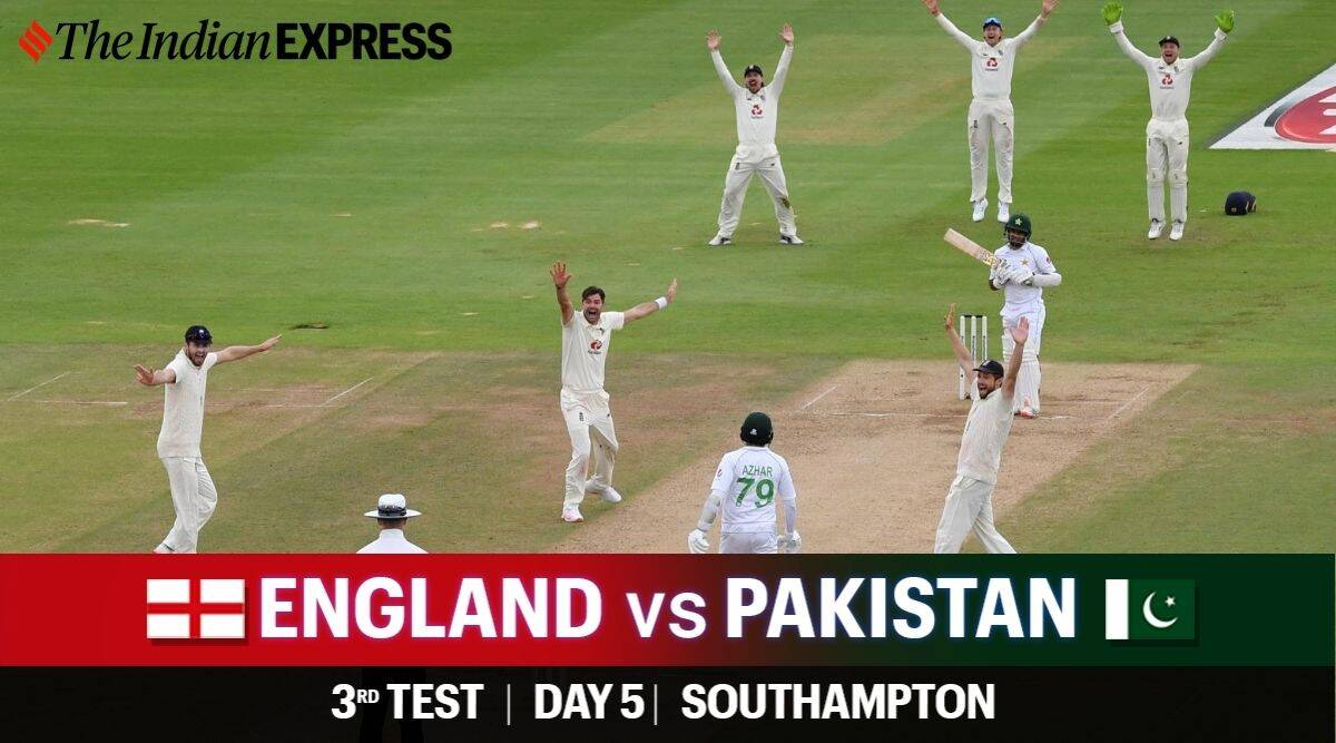 England vs Pakistan 3rd Test Day 5 Live Cricket Score Updates: All eyes on  James Anderson, Azhar Ali and the skies