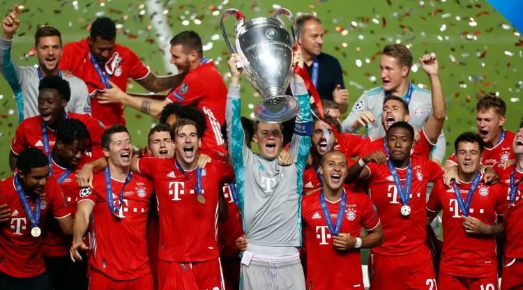 Bayern Munich win sixth UEFA Champions League as Kingsley ...