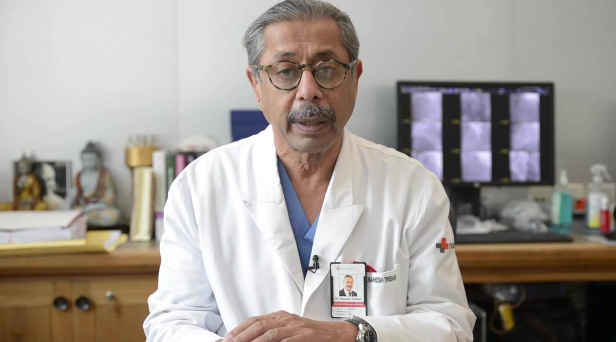 pandemic, COVID-19 pandemic, when will the pandemic end, Dr Naresh Trehan interview, Dr Naresh Trehan on the COVID-19 pandemic, health, Indian Express news