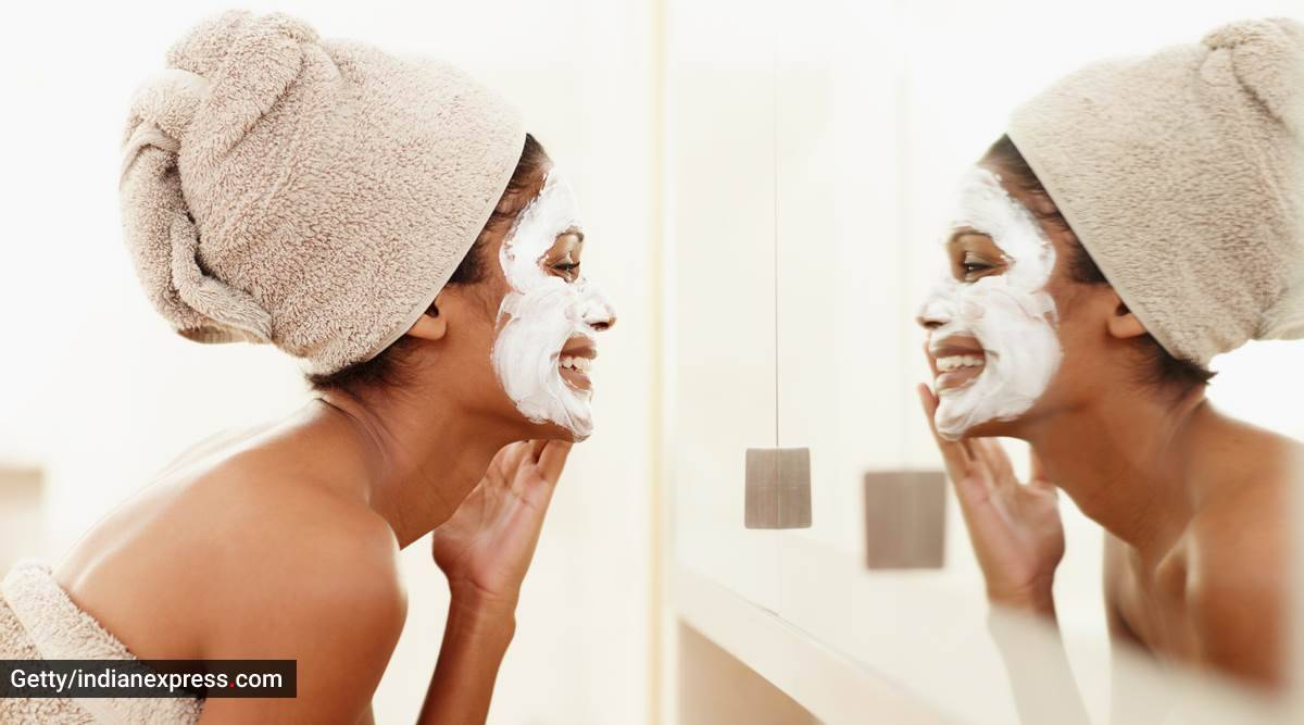 skincare tips, basic things to keep in mind when applying a face pack, beauty routine, skincare routine, indian express, indian express news