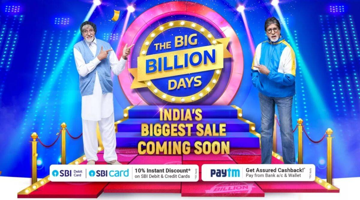 Flipkart Big Billion Days sale starts soon; listed below are the offers published